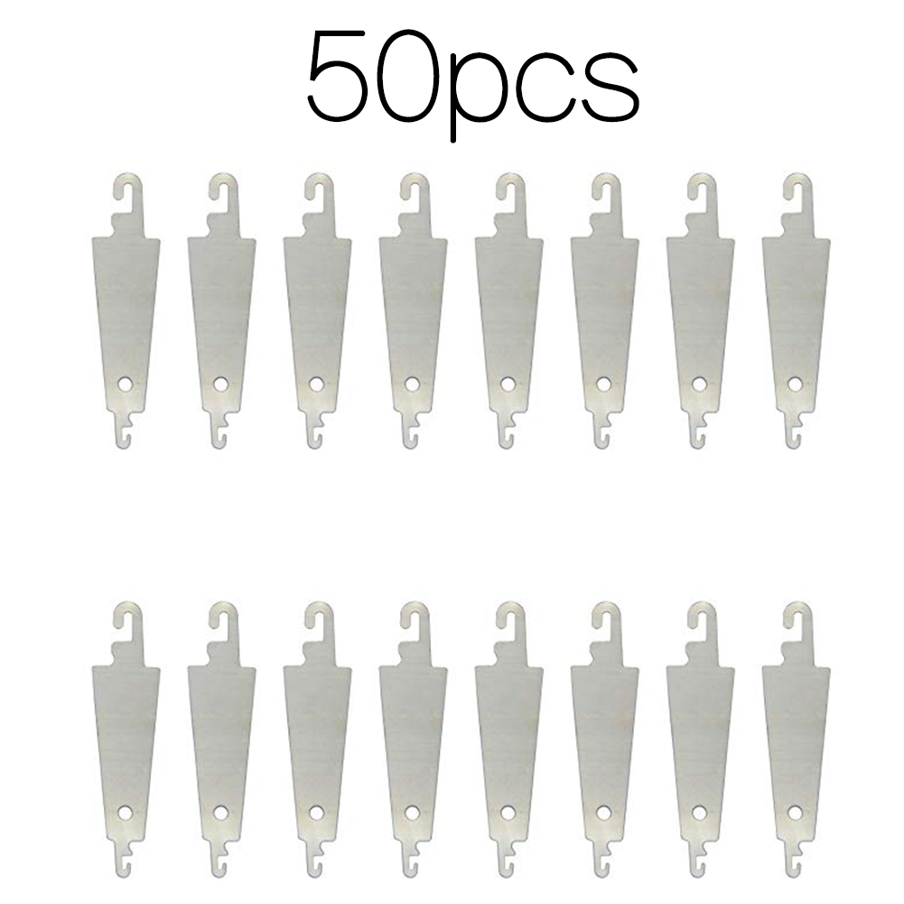 50PCS Portable Professional Tool Hooked Cross Stitch Craft Home Useful Steel Needle Threader Lightweight DIY