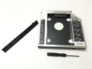 """Image 3 - العالمي الألومنيوم 2nd HDD العلبة 12.7 مللي متر SATA III ل 2.5 """"12.5 مللي متر 9.5 مللي متر 9 مللي متر 7 مللي متر SSD HDD حالة الضميمة + المزدوج LED لأجهزة الكمبيوتر المحمول الغريب"""