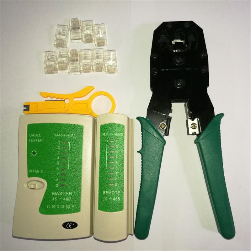 RJ45 RJ11 RJ12 Wire Cable Crimper Crimp Cutting Stripper Network Hand Tool Pliers & Cable Tester RJ45 plug 10pcs 8P Crystal Head 3d floor painting wallpaper walkway showroom sky suspension wooden bridge 3d floor 3d pvc wallpaper 3d flooring