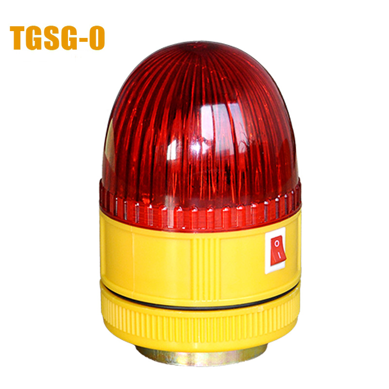 LTD-6060 Battery LED Flashing Warning Lamp Alarm Magnet Bottom with sound red/yellow/green/blue цена и фото