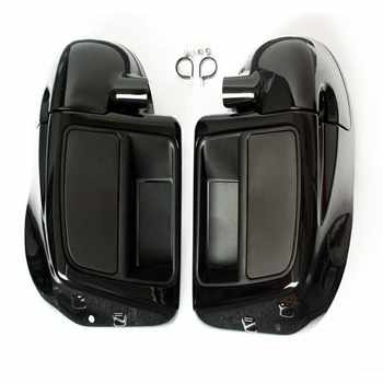 Vivid Black Lower Leg Warmer Vented Fairing Glove Box For Harley Touring Road King Street Electra Glide Ultra FLTR 2014-2018 17 - DISCOUNT ITEM  24% OFF All Category