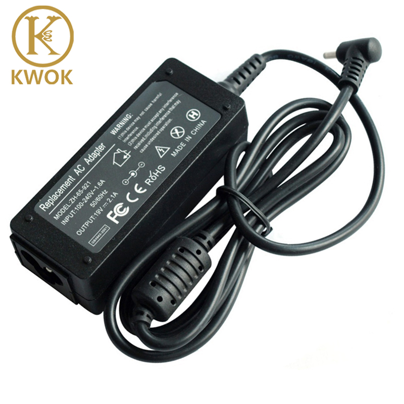 19V 2.1A AC Power Adapter Pengecas Laptop Untuk Asus EeePC X101CH T101H 1005HAB PC 1005 1005HA 1005PE 1201AC 1001HA 1001P 1001PX