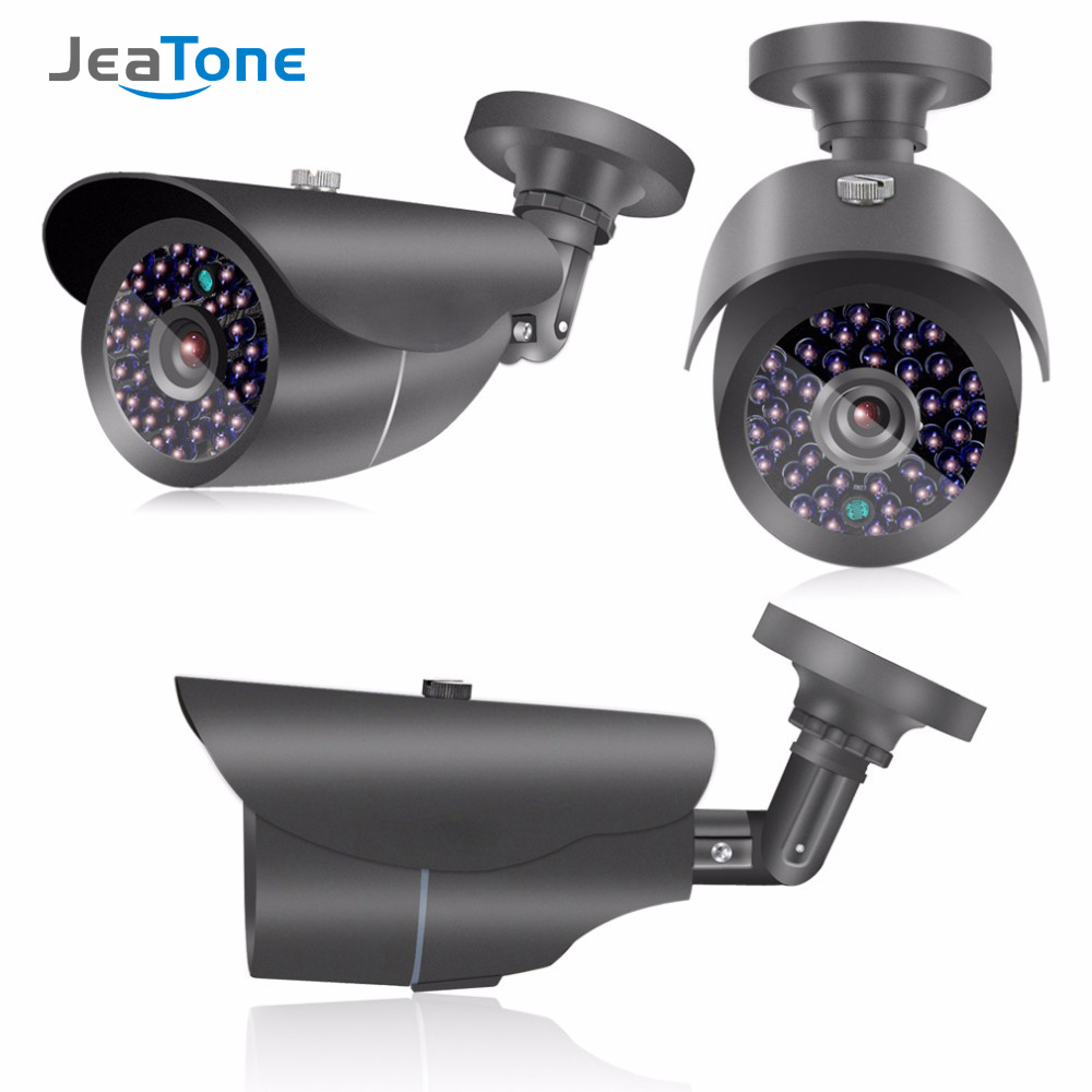 JeaTone High Definition AHD 1080P 2.0MP CMOS CCTV Security Surveillance Camera Outdoor Waterproof IP66 Bullet Metal Housing cctv camera housing metal cover case new ip66 outdoor use casing waterproof bullet for ip camera hot sale white color wistino