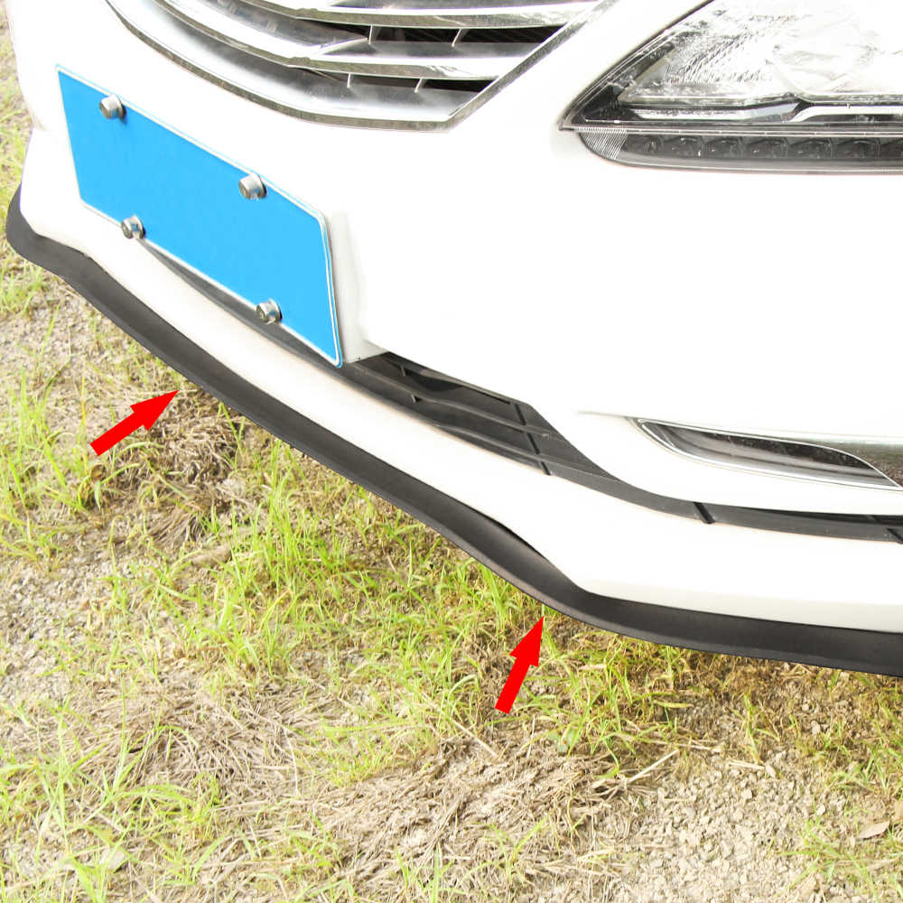 Protecteur universel en caoutchouc de lèvre de pare-chocs de jupe avant/arrière/latérale de voiture pour Opel Mokka Corsa Astra G J H insignia Vectra Zafira Combo