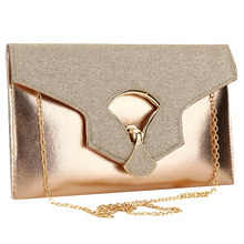 купить Crossbody Evening Clutch Bags For Women 2019 Leather Luxury Purses New Handbags Female Evening Bags Designer Small Messenger Bag по цене 871.46 рублей