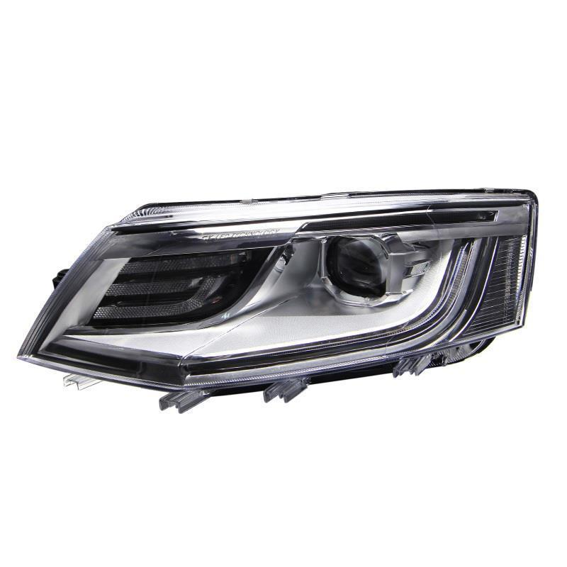Luces Lamp Running Neblineros Para Auto Automobiles Led Drl Side Turn Signal Headlights Car Lights Assembly FOR Skoda Octavia