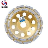 6inch 150mm Double Row Diamond Grinding Wheel Disc Bowl Shape Grinding Cup Discs Concrete Granite Stone