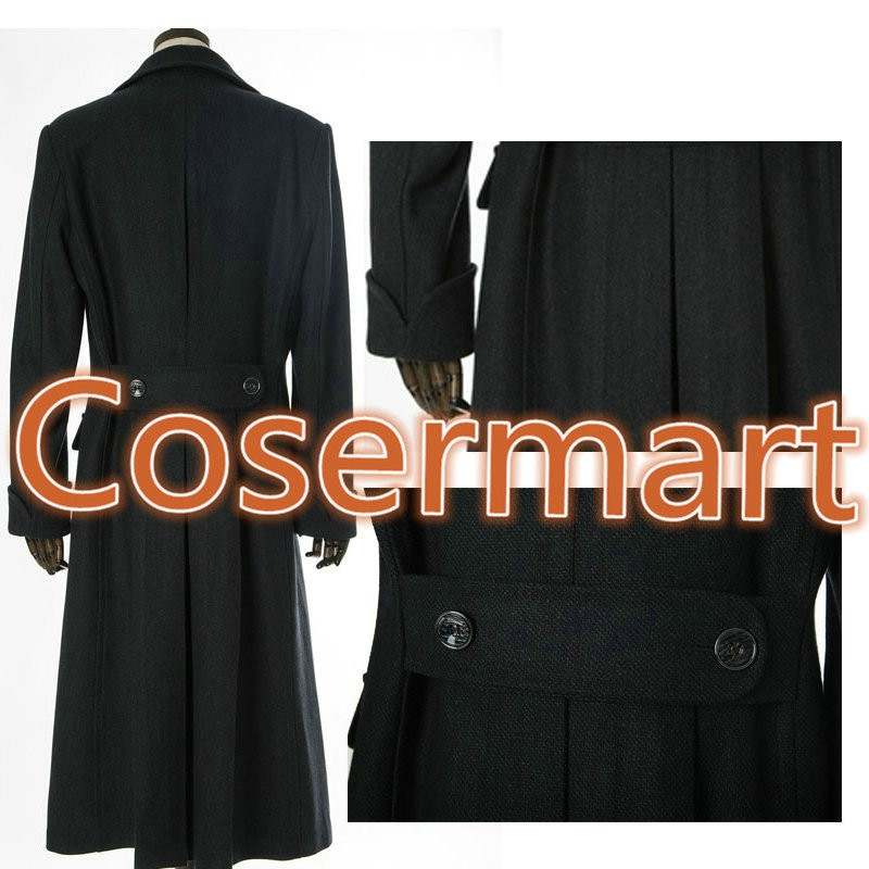 Sherlock Holmes Tv Long Wool Winter Coat Jacket Cosplay Costumes4
