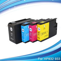 4 Pack 932XL 933XL Ink Cartridge With Newly Updated Chips For HP OfficeJet Pro 7510 7512