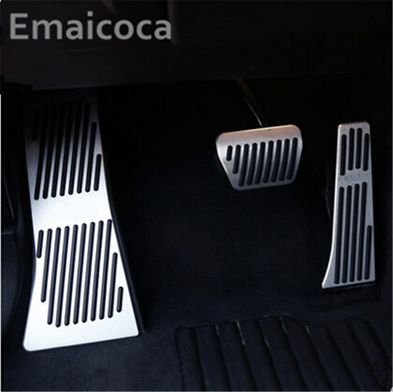 Car styling free shipping car styling 3pcs/set Car FootRest Fuel Gas Brake Pedal Cover Case For BMW X5 X6 F15 F16 E70 E71 E72Car styling free shipping car styling 3pcs/set Car FootRest Fuel Gas Brake Pedal Cover Case For BMW X5 X6 F15 F16 E70 E71 E72