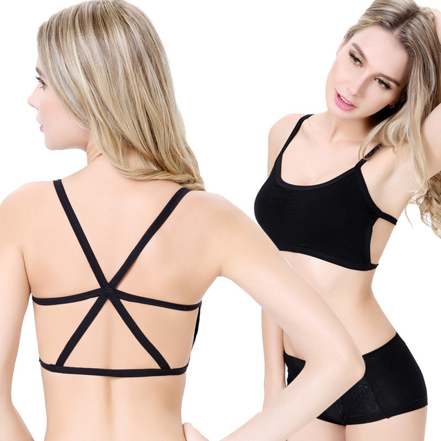 100PCS/LOT  Hot Sexy Woman Top bandage cross Women Hot  Bra Tank Padded Underwear Vest Crop Top