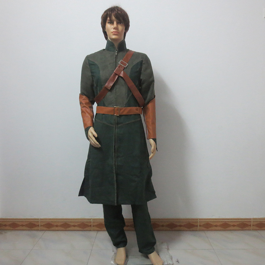 The Hobbit The Lord Of The Rings Legolas Christmas Party Halloween Uniform Outfit Cosplay Costume Customize Any Size