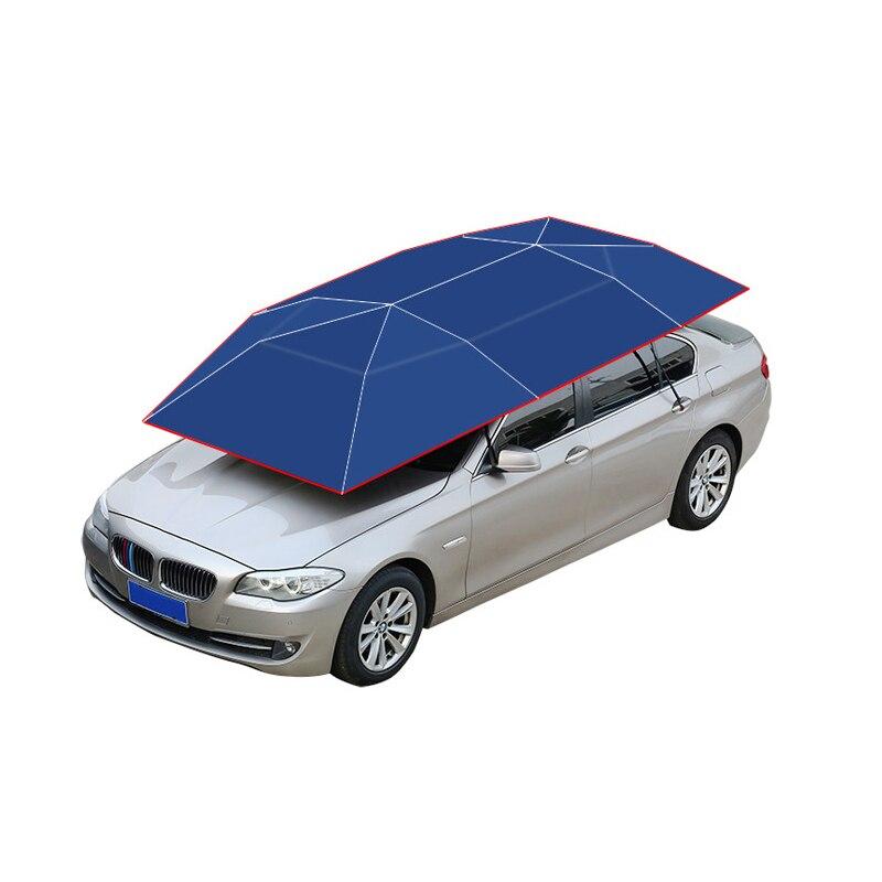 400 cm Entièrement Automatique Parapluie De Voiture Portable Intelligent télécommande Housse de protection Extérieure Parking Voiture Tente Parapluie Couverture De Toit