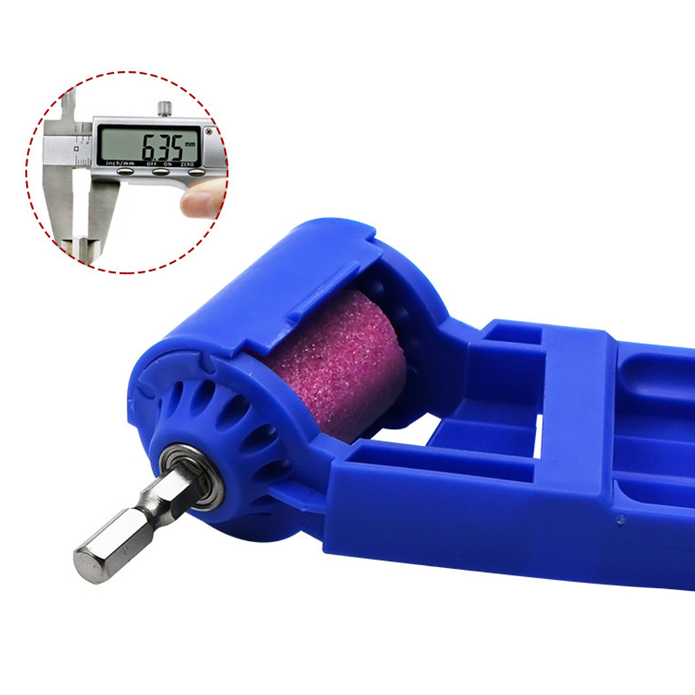 Bit Twist Electric Sharpener Polishing Mechanical Adapter Straight Shank Auxiliary Tool Drill Grinder Corundum Grinding Portable|Grinders| |  - title=