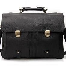 """Мужской кожаный чехол, мужской чехол из натуральной кожи, чехол s для ноутбука 1"""", Чехол для ноутбука, сумка-тоут, деловой чехол, мужская сумка-мессенджер, черный цвет"""