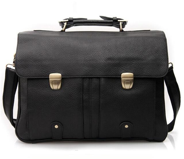 b7f09935d566 Мужской кожаный портфель из натуральной кожи мужские портфели для 15