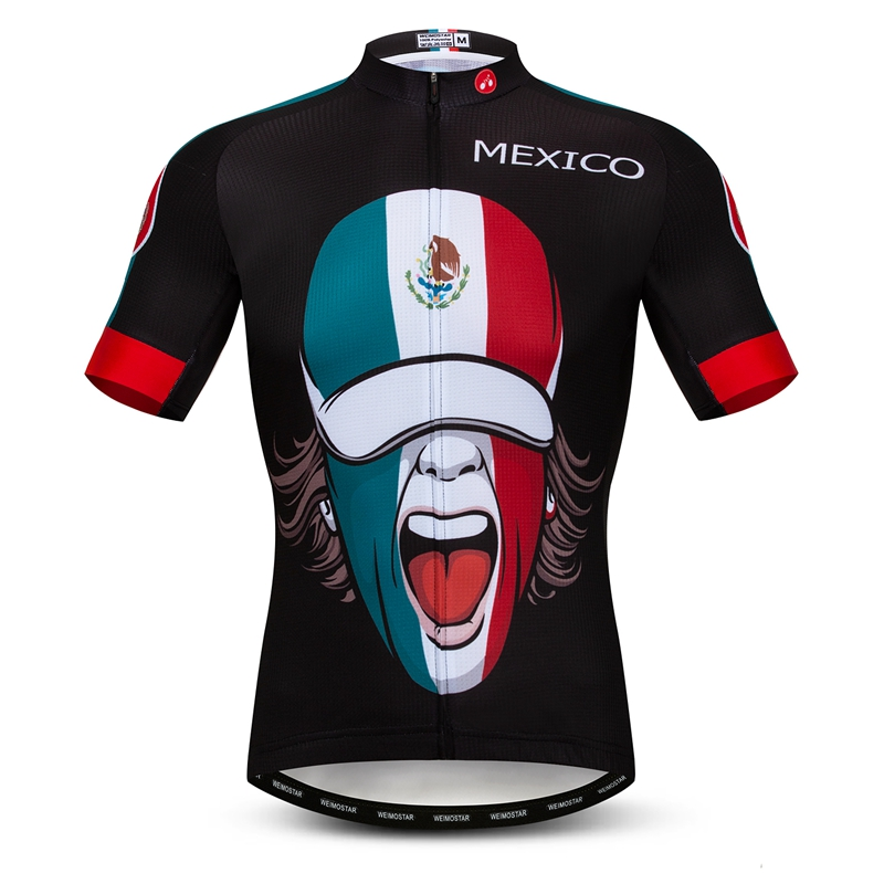 a97ab5a68 Aliexpress.com : Buy Weimostar New USA Canada Mexico Cycling Jersey Men  Quick Dry Summer Bike Shirts Short Sleeve Bicycle Clothing Maillot Ciclismo  from ...