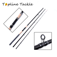 3.9m 3.6m 100 150g Power feeder fishing rod 3 Segments spinning casting rod wt.6 to 15lb lure wt.0.75oz Carbon Spinning Rod