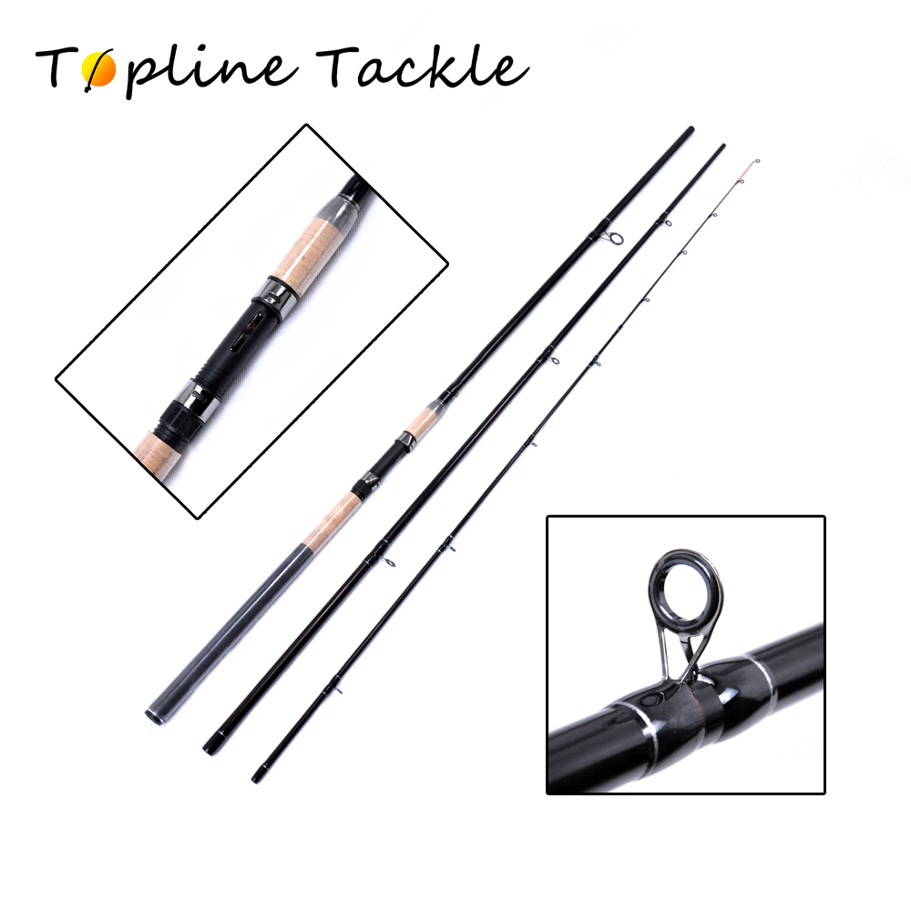 3.9m 3.6m 100-150g Power feeder fishing rod 3 Segments spinning casting rod wt.6 to 15lb lure wt.0.75oz Carbon Spinning Rod