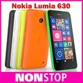 Nokia Lumia 630 в исходном отремонтированы сотовые телефоны окна телефон 8.1 Snapdragon 400 четырехъядерных процессоров