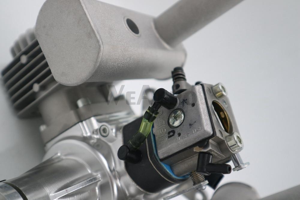 Image 4 - RCGF 60cc двухцилиндровый бензиновый/бензиновый двигатель для радиоуправляемого самолетаengine for rcgasoline engineengine for airplane  АлиЭкспресс