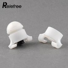 Relefree White Small Portable 2 Size In 1 Clip On Bite Alarm Waterproof Automatic Tool Outdoor Fishing Accessories