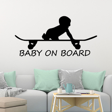 Diy Sliding Baby board Vinyl Kitchen Wall Stickers Wallpaper For Kids Rooms Home Decoration removable Children stickers