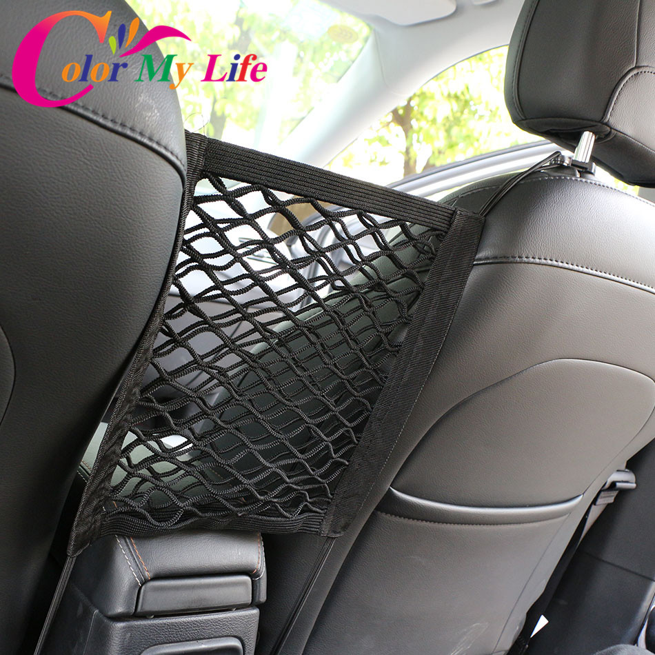 Buy Color My Life Car Car Armrests Seats Storage Organizer Bag for Chverolet Opel for Jeep Compass Renegade Cherokee for Peugeot Kia for only 4.99 USD