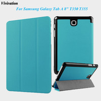 Viviration Magnet Luxury Stand PU Leather Tablet PC Case Cover For Samsung Galaxy Tab A 8