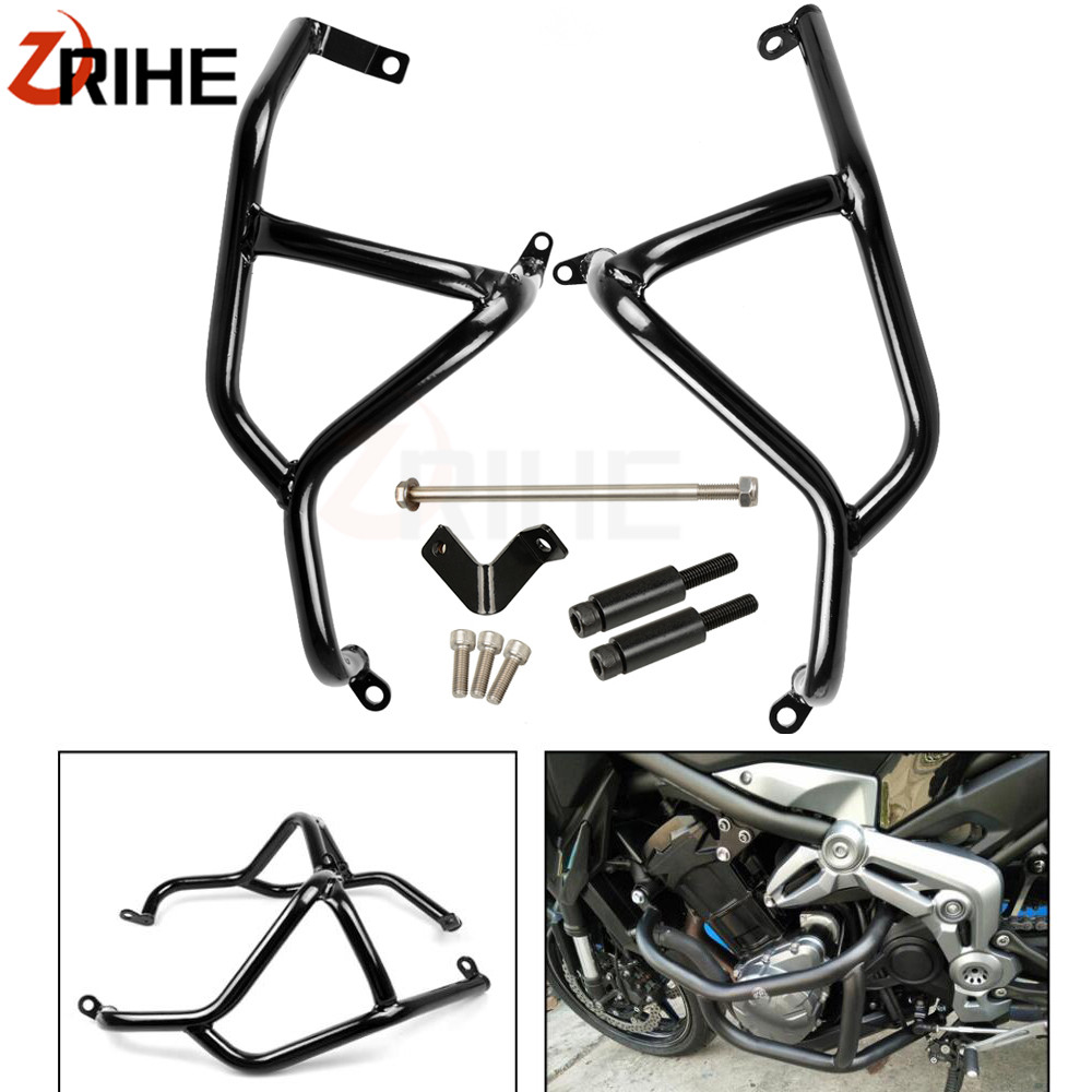 Motorcycle accessories stainless steel Engine Guard Frame Protection Crash Bar For Kawasaki Z900 Z 900 2017 2018 for kawasaki z900 2017 z 900 crash bar for kawasaki z900 2017 motorcycle accessories engine guard frame protection moto