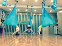1 Meter Customized Length Aerial Flying Yoga Hammock Frabic Swing Trapeze Anti Gravity Inversion Traction Touch