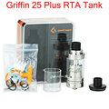 Original GeekVape Griffin 25 Plus RTA Tank 5ml Build Deck Tank Top-Filling Bottom and Top Airflow Griffin 25 Plus Atomizer YY