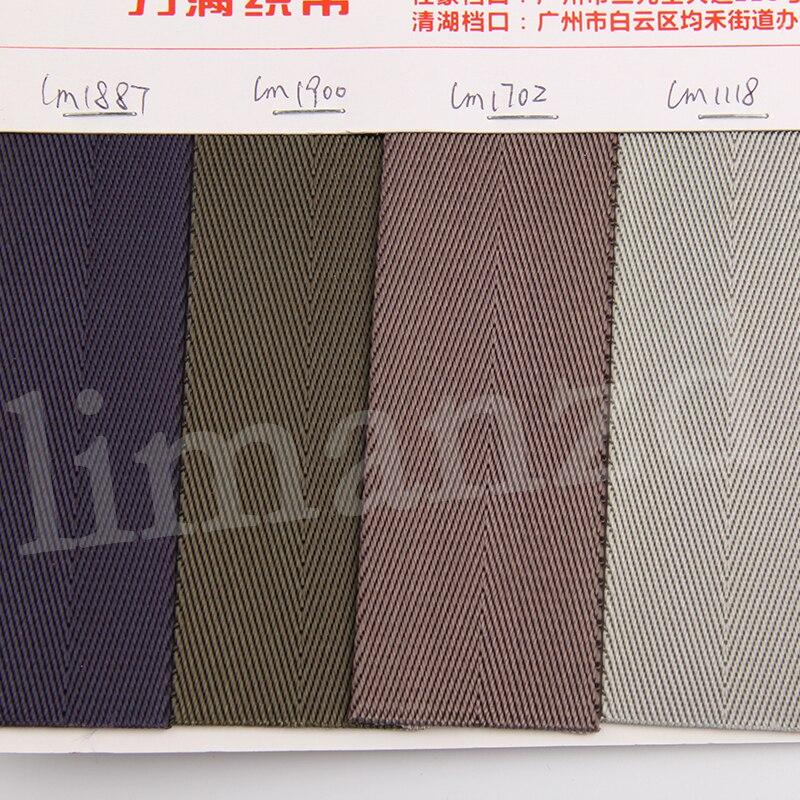 3,2 cm nylon gurtband hohe qualität blau/grün/weiß/lila/orange viele farbe auf lager für verkauf 50 yards/los freies verschiffen-in Gurtband aus Heim und Garten bei  Gruppe 2