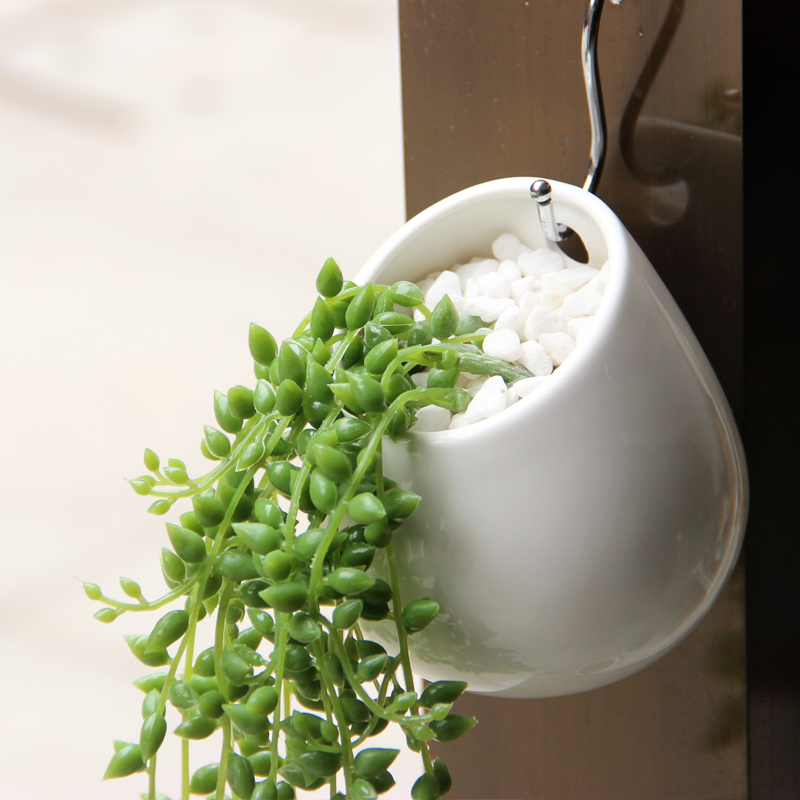 Creative Ceramic Wall Hanging Flowerpot Succulents