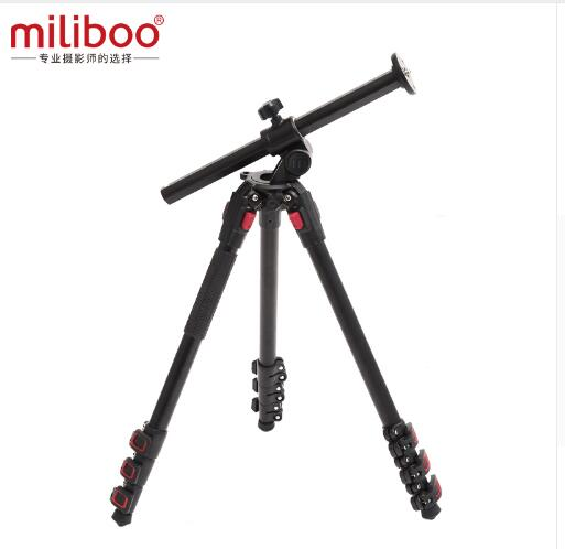 Miliboo MUPA Aluminum Fluid Head Video Camera Tripod Middle Axis Horizontal Panoramas for Professional SLR Tripod