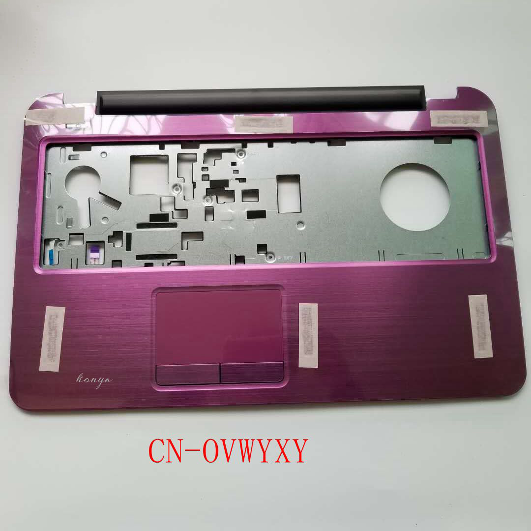 NEW Original Del Inspiron 17 5721 3721 Purple Laptop Palmrest Touchpad VWYXY