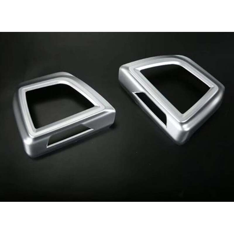 YAQUICKA For <font><b>Subaru</b></font> <font><b>XV</b></font> <font><b>2018</b></font> Car <font><b>Accessories</b></font> Front Side Air Outlet Decoration Sticker ABS Interior Car Styling 2Pcs image