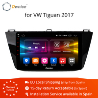 Ownice K1 K2 10.1 ips 8 Core Android 8.1 Car Radio GPS for VW Tiguan L 2017 DVD Multimedia/wifi/maps/support 4G car play