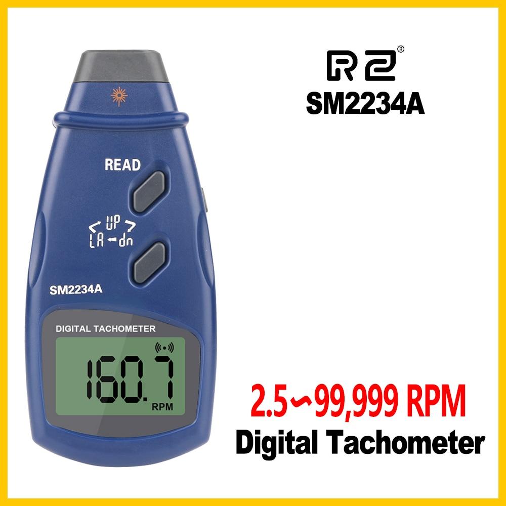Velocímetro de Memória Digital Tacômetro Eletrônico Foto Max Min Último Dados Sm2234a Lcd