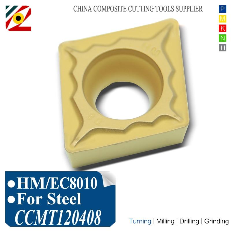 EDGEV Carbide درج 10PCS CCMT120404 CCMT120408 CCMT432 CNC تراش - ماشین ابزار و لوازم جانبی
