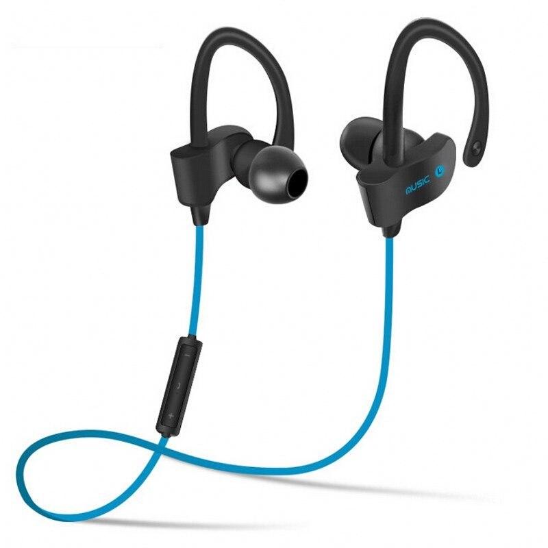 bilder für 2017 neue 56 s kopfhörer drahtloser sport bluetooth headset stereo ohrstöpsel mit mikrofon für samsung htc lg smart telefon
