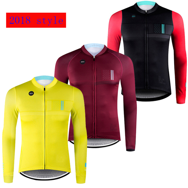 Bicycle cycling jersey 2018 Spring autumn pro team long sleeve men s  atletico madrid jersey camisa ciclismo tenue cycliste homme 574b8c2d5