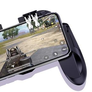 Image 4 - PUBG controller with fan game controler pubg mobile game trigger fire button for iphone ios game controller joystick gamepad
