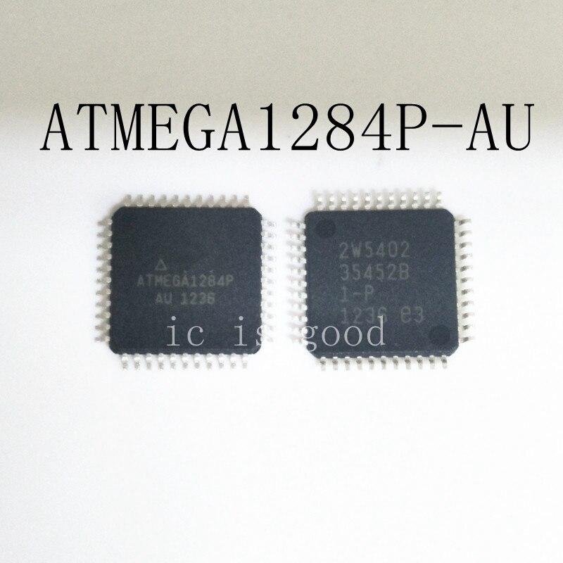 10PCS LOT ATMEGA1284P AU ATMEGA1284 1284P AU QFP44