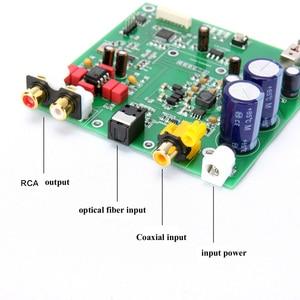 Image 3 - Lusya ES9038 Q2M I2S DSD Decoder Coaxial Fiber input DAC decoding board For hifi amplifier audio F7 003