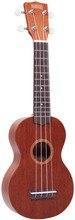 Mahalo MR1TBR-PK Укулеле с чехлом, струны Aquila, цвет Transparent Brown, обучающие материалы