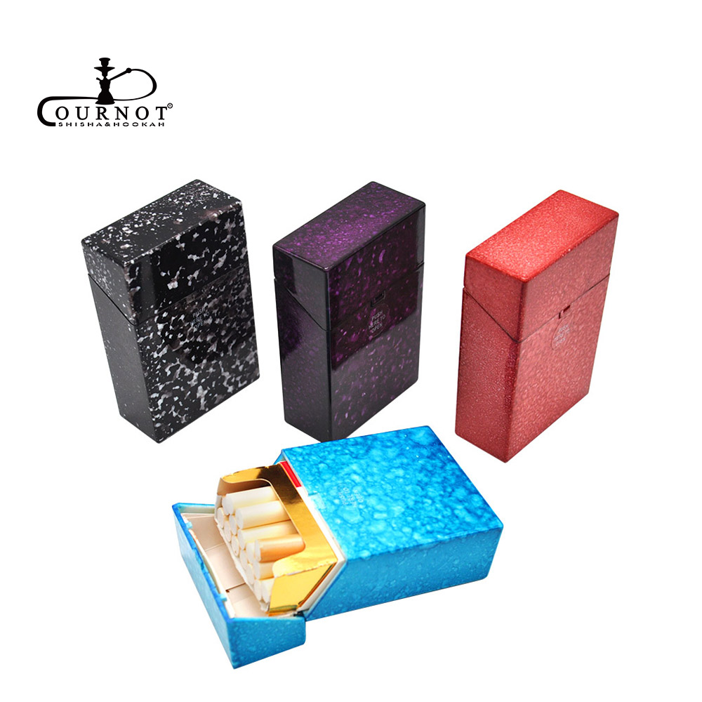 Cournot Plastic Cigarette Tobacco Case Cover For Regular Cigarette Starry Sky Pattern Cigarrera Case Holder Portable Tobacco Box