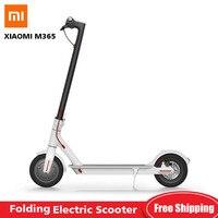 Оригинальный Xiaomi M365 складной электрический скутер мини 2 колеса умный электрический скутер Сверхлегкий скейтборд E ABS антиблокировочная си
