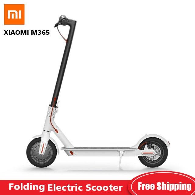Original Xiaomi M365 pliant Scooter électrique Mini 2 roues Scooter électrique intelligent ultraléger planche à roulettes E-ABS système antiblocage