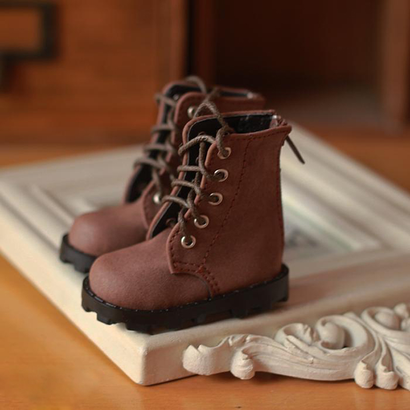 New Arrival 1/6 BJD Frosted Boots Shoes For Doll SD BJD Fashion Shoes Doll Accessories js 081 bjd shoes pu shoes sd msd doll shoe factory sales directly